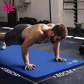 Thảm Tập Yoga Ortho Đa Chức Năng (185 x 80cm 10mm)-4