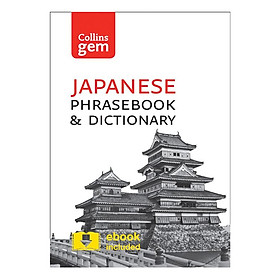 [Download Sách] Collins Japanese Phrasebook and Dictionary Gem Edition Paperback (Third Edition)
