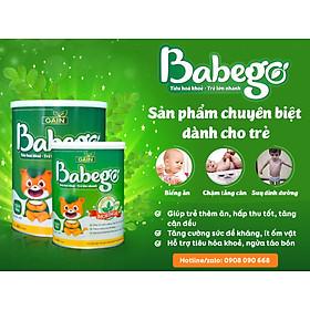 Sữa mát tăng cân, cải thiện biếng ăn và táo bón Babego từ 12 - 36 tháng, 800G-3