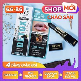Son thải độc môi, tẩy da chết – KYS Chocolate Lip Detox
