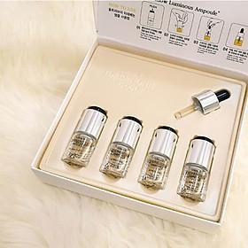 Hộp 4 lọ tinh chất chống lão hóa và sáng da Idebenone Ampoule Ultra V DDK 6ml
