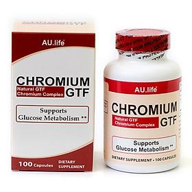 Thực phẩm bảo vệ sức khỏe Viên nang Aulife Chromium GTF