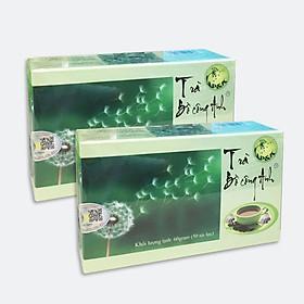 Combo Trà Bồ Công Anh nguyên chất P&K giúp ngủ ngon, trị viêm họng, giảm cân, ngừa tiểu đường, cao huyết áp, chữa trị ung thư (2 hộp)