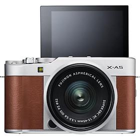 Máy Ảnh Fujifilm X-A5 Kit XC15-45mm f3.5-5.6 OIS (Nâu) + Thẻ Nhớ Sandisk 16GB Tốc Độ 48MB/s + Túi Đựng Máy Ảnh Fujifilm - Hàng Chính Hãng