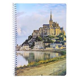 Sổ Lò Xo Devyt A4 200 Trang Đl70/92 - Pháp