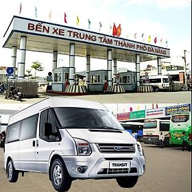 Xe 16 chỗ đón - tiễn bến xe Đà Nẵng