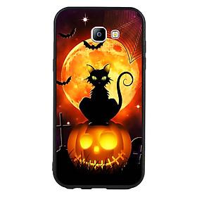 Hình đại diện sản phẩm Ốp lưng Halloween viền TPU cho điện thoại Samsung Galaxy A7 2017 - Mẫu 05