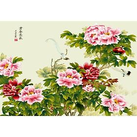Tranh Treo Hoa Mẫu Đơn - MD032