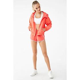 Set áo khoác dù thể thao chống nắng nữ  + quần ngắn tập Gym / Chơi Thể Thao