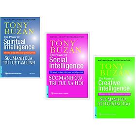 Combo Sách Tony Buzan (Sức mạnh của trí tuệ tâm linh + Sức mạnh của trí tuệ sáng tạo + Sức mạnh của trí tuệ xã hội)