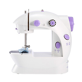 Portable Mini Sewing Machine Eco-Friendly Material Dual Speed Mending Machine Durable for Household Fabric Sewing