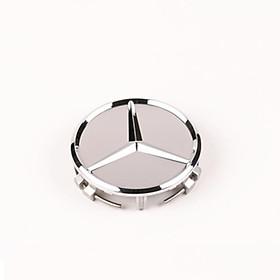 Logo chụp mâm, ốp lazang đẳng cấp bánh xe ô tô Mercedes Benz BENZ75