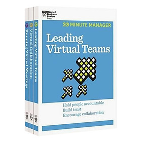 Harvard Business Review 20 Minute Manager Series Virtual Manager Collection (3 Books)