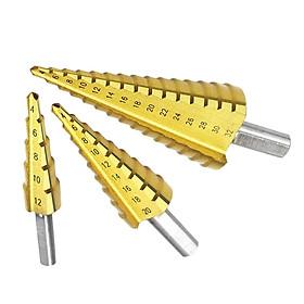 3Pcs 4-12mm/4-20mm/4-32mm Titanium Cone High