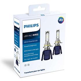 Bóng Đèn Pha Ô tô, Xe hơi Philips Ultinon Essential LED HIR2 11012UEX2 6000K
