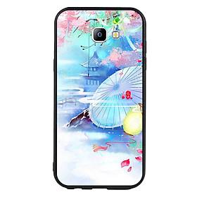 Hình đại diện sản phẩm Ốp lưng viền TPU cho điện thoại Samsung Galaxy A7 2017 - Diên Hi Công Lược Mẫu 7