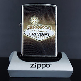 Bật Lửa Zippo 205 Welcom To Las Vegas