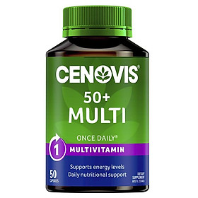 Cenovis Once Daily 50+ Multivitamin 50 Capsules