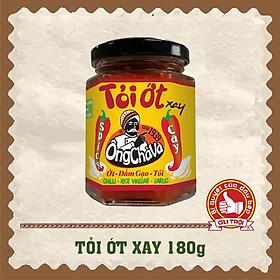 Tỏi ớt xay Ông Chà Và 180gram (Garlic & Chilli paste Ong Cha Va 180gram)