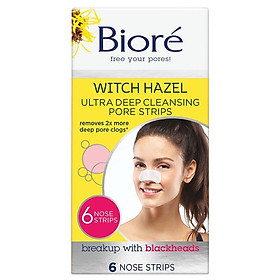 Biore Deep Cleansing Pore Strips 6 Ultra