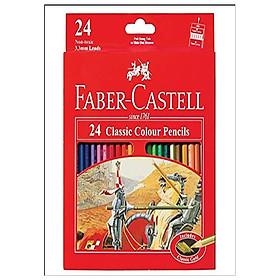 Faber-Castell-115854- Chì Màu Classic Knight - 24 Màu Dài