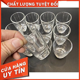 Set 12 ly uống nước thuỷ tinh