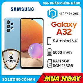 Điện thoại Samsung Galaxy A32 (6GB/128GB) - Hàng Chính Hãng - Đã kích hoạt bảo hành điện tử