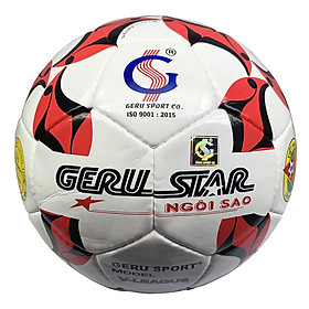 Bóng đá Gerustar Size 5 V-League (Tặng Băng dán thể thao + Kim bơm + Lưới đựng)