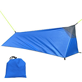 Backpacking Tent Outdoor Camping Sleeping Bag Tent Lightweight Single Person Tent with Net