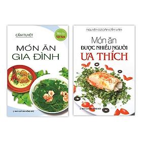 Sách - Món Ăn Được Nhiều Người Ưa Thích - Món Ăn Gia Đình (Bộ 2 Cuốn)