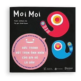 Combo 4 cuốn Sách Ehon Moi Moi - Giúp các em bé ngừng khóc - Đồ vật Thìa Nhỏ, Cốc nhỏ, Bát nhỏ, đĩa nhỏ