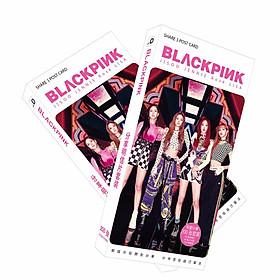 Hộp ảnh Postcard Blackpink mẫu số 8 thiết kế độc đáo