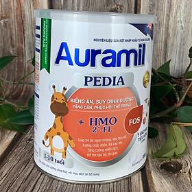 Sữa Auramil PEDIA 900G - SẢN PHẨM DINH DƯỠNG DÀNH CHO TRẺ BIẾNG ĂN, SUY DINH DƯỠNG