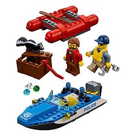 Thuyền Hơi Tẩu Thoát LEGO City 60176 (126 Chi Tiết)