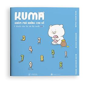 Sách ehon Nhật Bản: Kuma khám phá những con số