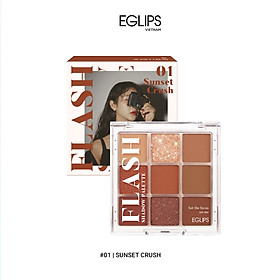 Bảng phấn mắt Eglips Flash Shadow Palette 8.1g – #01 Sunset Crush
