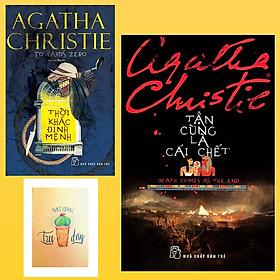 Combo Agatha Christie : Tận Cùng Là Cái Chết và Thời Khắc Định Mệnh ( Tặng Kèm Sổ Tay Xương Rồng)