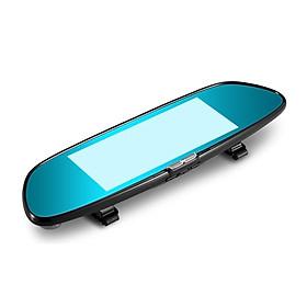 7-Inch Display Screen 1080P HD Dual Lens Vehicle Rearview Mirror 1GB + 16 GB