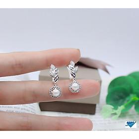 Bông tai nữ chất liệu bạc 925 MS09r