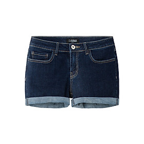 Quần Shorts Nữ Denim THE COSMO Denim Shorts - Dark Blue