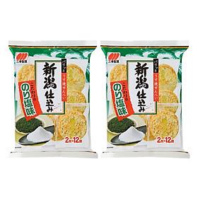 2 Gói Bánh Gạo Sanko Vị Rong Biển Nhật Bản (99.6g x 2)