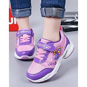 Giày cho bé gái in hình trái tim dễ thương TTV43