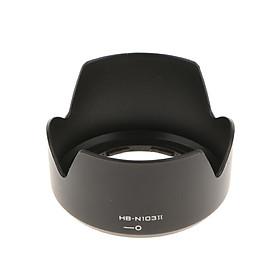 HB-N103 II Lens Hood For Nikon 1 NIKKOR VR 10-30mm F/3.5-5.6 V1 J1 J2