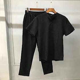 (SALE SỐC- ẢNH THẬT 100%) BỘ ĐŨI NAM Quần Dài Áo Cộc ( Mát - Nhẹ Như Không) atb shop thời trang nam cao cấp 2020