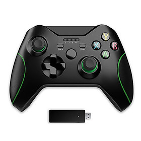 Gaming Pad 2.4G Wireless Bluetooth Gamepad Game Handle Controller Joypad Gaming Joystick For Xbox 360 For Computer Pc Gamer - Green Black