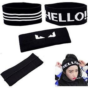 Băng đô Hàn Quốc tập luyện thể thao, nhảy hiphop headband D01