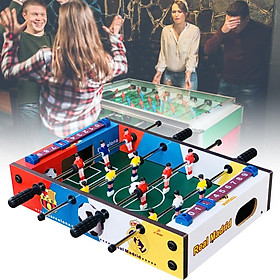 Table Game Football Wooden Indoor Football Table Foosball Table Party Kids Play Toys