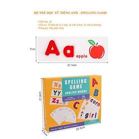 Bộ thẻ học tiếng Anh mới nhất - Spelling Game