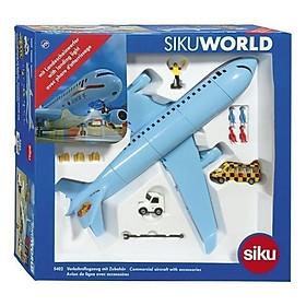 Đồ chơi mô hình SIKU Máy bay dân dụng kèm phụ kiện nhiều loại 5402