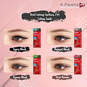 Bút vẽ viền mắt K-Palette Real Lasting Eyeliner 24h WP